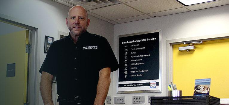German Auto Center Owner, Len Gilmore